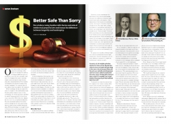 July Issue Feature: Intellectual Property - Better Safe Than Sorry