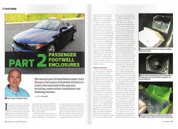 May Issue Tech Feature: Passenger Footwell Enclosures, Part 2