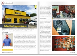September Issue Feature: Real World Retail - Foss Audio and Tint