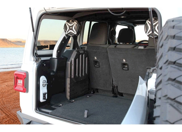 SSV Works Debuts New Jeep Audio System Accessories at 2019 SEMA Show