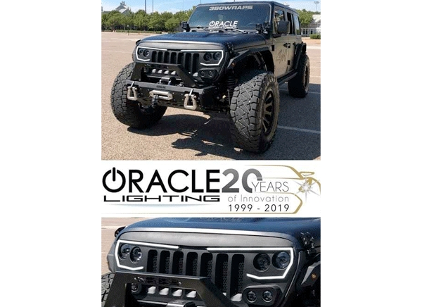 Oracle Lighting Debuts New Vector ProSeries LED Grille for Jeep Wrangler and Gladiator