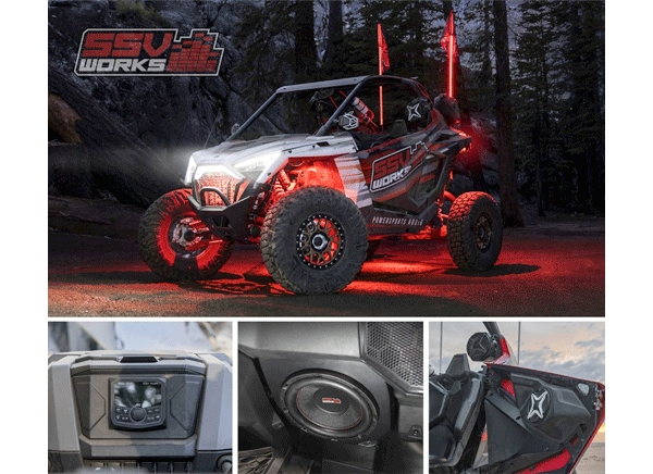 SSV Works Offers Industry's Only Aftermarket RZR Pro XP Kits
