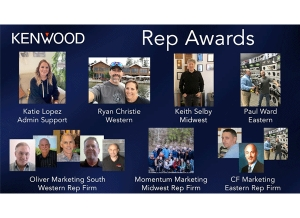 KENWOOD Holds Annual Rep Awards Ceremony - Virtually