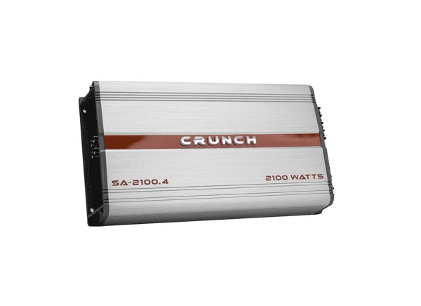 CRUNCH SMASH Amplifiers Deliver More Power in Smaller Footprint