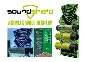 SOUNDSHIELD® Offers New Showroom Wall Display