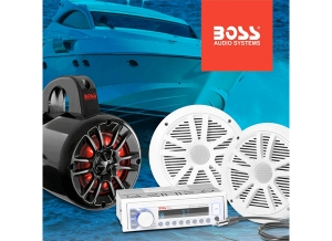 BOSS Audio Systems Adds to Marine Line