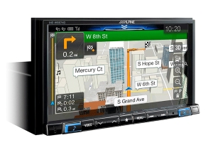 Alpine Electronics is Now Shipping Navigation Receivers with Improved User Interface