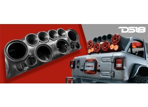 DS18 JLOUD that fits Jeep Wrangler, JK, JKU, JL busts out on the Jeep scene!