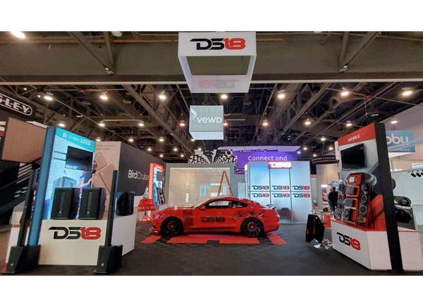 DS18 Shows Why They Like it Loud at CES 2020