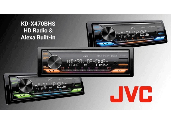JVC Debuts HD Radio and Alexa Built-In Audio Receiver at CES