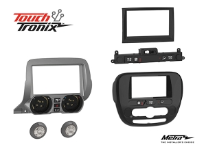 Metra Electronics® Introduces New TouchTronix™ Technology and Integrated Radio Dash Kits