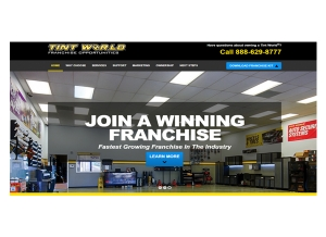 Tint World® Announces Growth Plans, Unveils Updated Franchise Opportunity Website