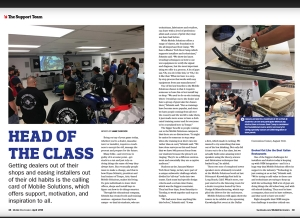 April Issue Feature: The Support Team - Head of the Class