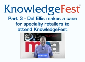 Del Ellis Makes a Case For Spring KnowledgeFest Part Three