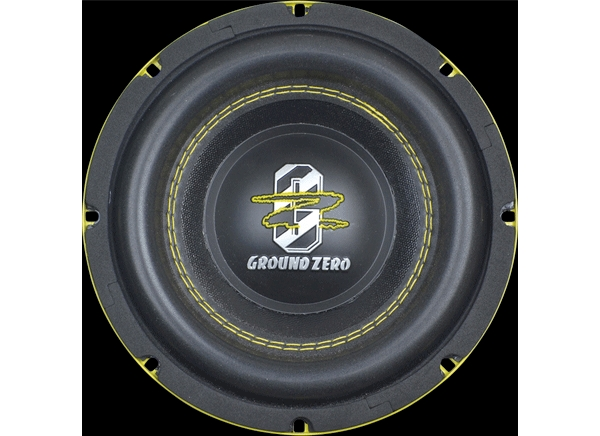 Ground Zero New Subwoofer and Preloaded Enclosure