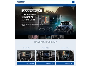 Alpine Restyles Website