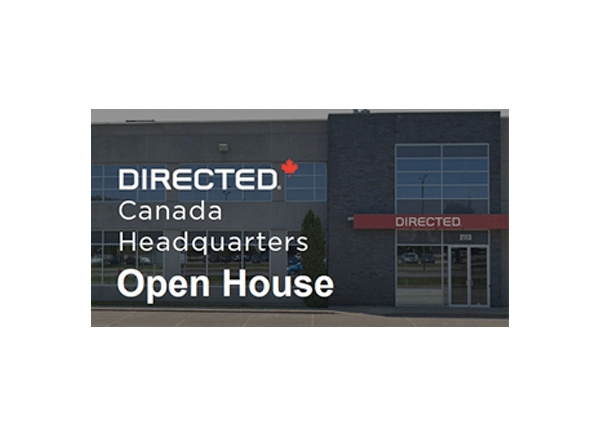 Directed Canada Hosting Open House at New Lachine Facility