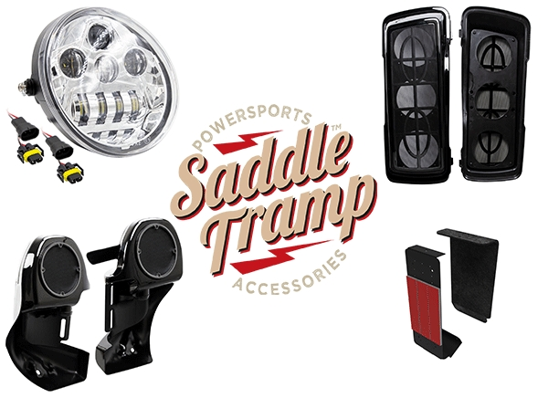 Saddle Tramp™ by Metra Electronics® Introduces New Motorcycle Audio and Lighting Accessories for Harley-Davidson®