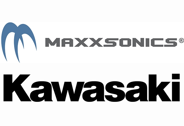 Maxxsonics USA announced a relationship with Kawasaki Motors