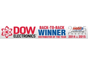 DOW Electronics Named Distributor of the Year at 2015 Industry Awards