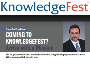 Coming to KnowledgeFest? Arrive with a Mission