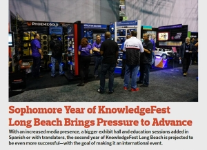 December Issue Feature: Sophomore Year of KnowledgeFest Long Beach Brings Pressure to Advance