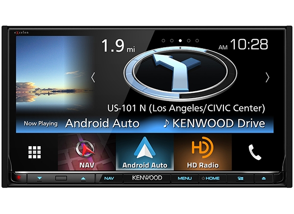KENWOOD Debuts Feature-Packed, Smartphone-Ready eXcelon DNX893S at International CES