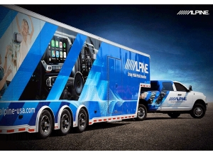 Alpine's New Event Trailer Will Drive Business and Awareness for 12-Volt Retailers