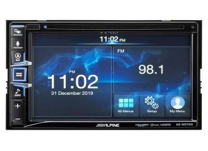 Alpine is Now Shipping the INE-W970HD Navigation Receiver with Apple CarPlay ® and Android Auto™