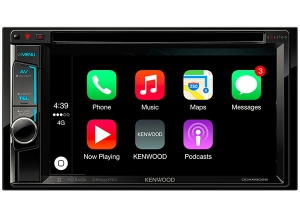 KENWOOD Announces Release of Two New Multimedia Receivers With Apple CarPlay