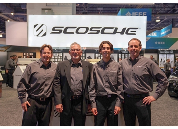 Three Generations of the Alves Family Represent SCOSCHE® Industries at their 36th International CES
