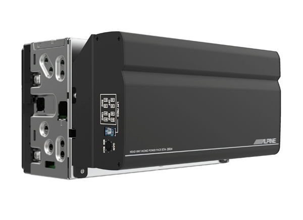 Alpine Electronics Now Shipping the KTA-200M Mono Power Pack Amplifier