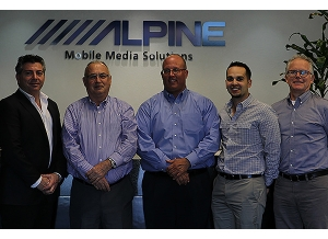 Alpine Hires New Aftermarket Sales Rep Firm